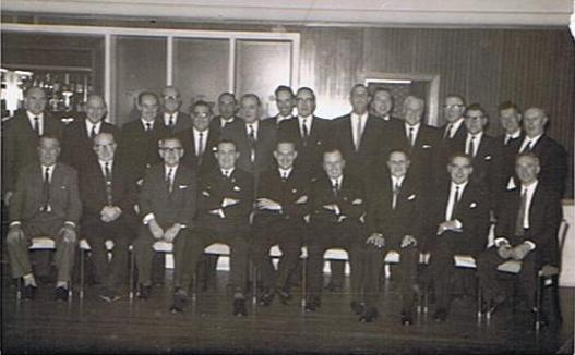 Pendle Lodge Members 1961