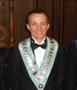 Bro Graham Thornton - youngest WM of Ormerod Lodge