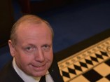 Bro. Ian Salthouse W.M. 2013-14