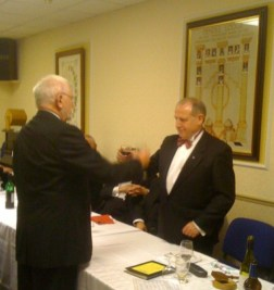 New Installed WM Ian Salthouse