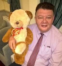 Bob with TLC Teddy 2
