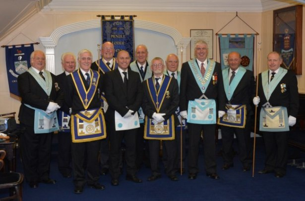 Past Masters Pendle Lodge Passing Gerald Thornton