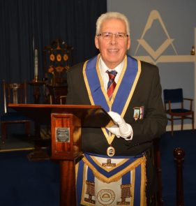 W.Bro Eddie Forkgen presents his lecture